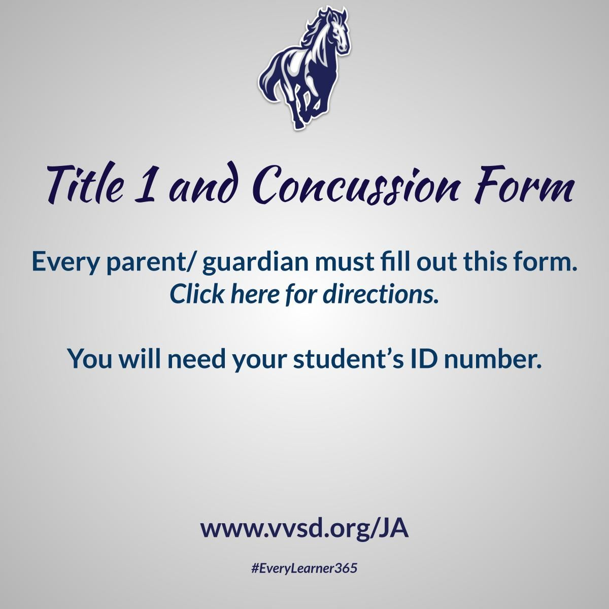 Title 1 and Concussion Form