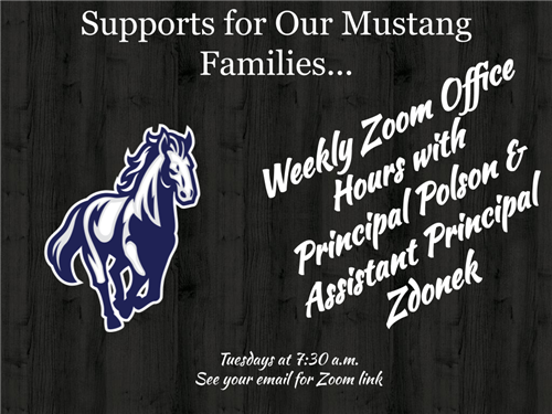 Weekly Zoom Office Hours with Polson and Zdonek