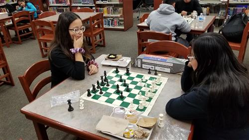Lunchtime Chess at Brooks