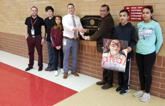 Romeoville Business Owner Donates to Lukancic STEM Programs