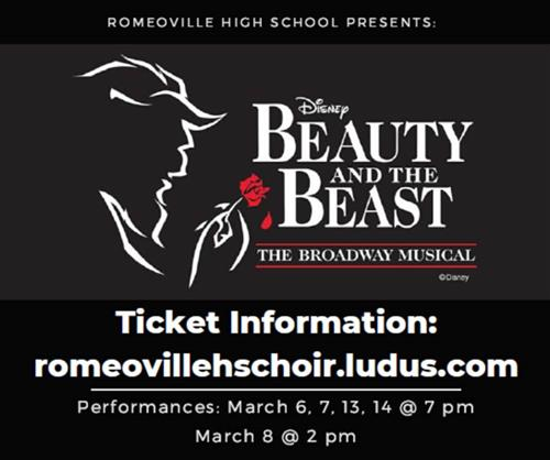 Romeoville HS Beauty and the Beast