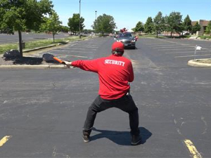 Bolingbrook HS Coach Shows Parking Lot Moves